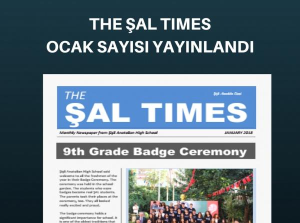 The ŞAL TIMES January 2018